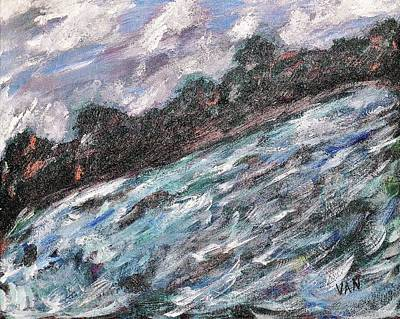 Painting - Flash Flood by Van Winslow