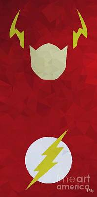 Comics Digital Art - Flash by Helge