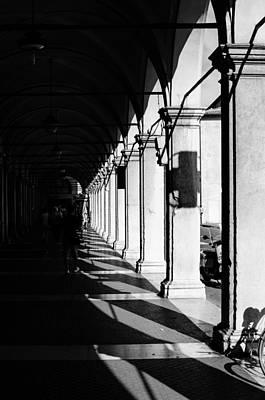 Urban Exploration Photograph - Flashes Of Light - Cesena - Italy  by Andrea Mazzocchetti