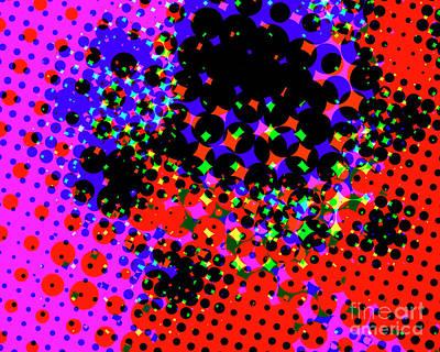 Digital Art - Flashpoint by Edmund Nagele