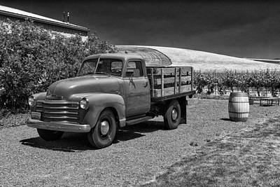 Flat Bed Chevrolet Truck Dsc05135 Art Print
