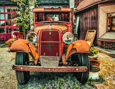 Photograph - Flat Bed Ford by Nick Zelinsky