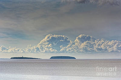 Photograph - Flat Holm And Steep Holm by Steve Purnell