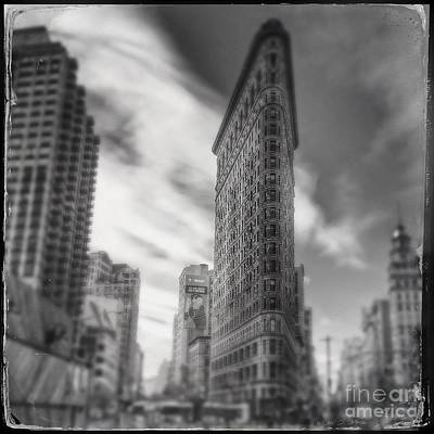 Photograph - Flat Iron Building by Craig J Satterlee