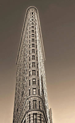 Flat Iron Building New York City Art Print by Dave Mills