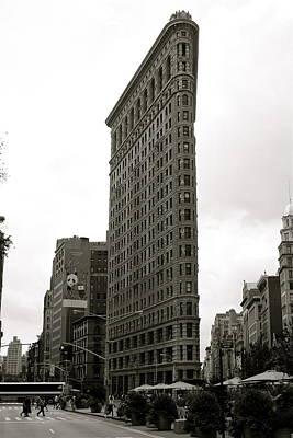 Flat Iron Building Original by Peter Dorrell