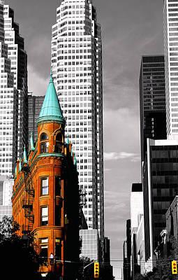 Flat Iron Building Toronto Art Print