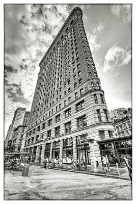 Photograph - Flat Iron by Walt Baker