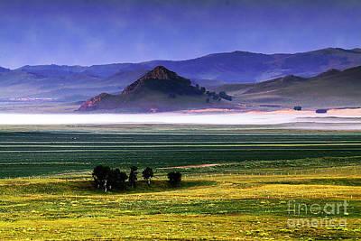 Flat Lands Of Kunming Original