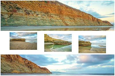 Photograph - Flat Rock Inbetween by Joseph S Giacalone