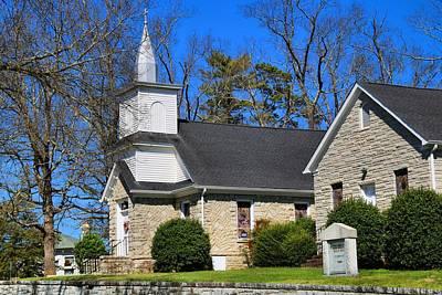 Photograph - Flat Rock Presbyterian Church by Kathryn Meyer