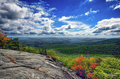Photograph - Flat Rock Vista by David A Lane