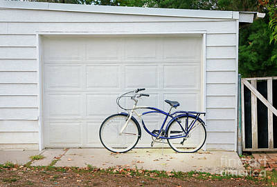 Photograph - Flat Tire Bicycle by Craig J Satterlee