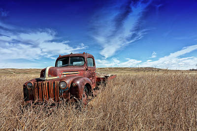 Photograph - Flatbed by CA Johnson