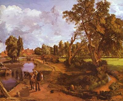 Painting - Flatford Mill 1817 by Constable John