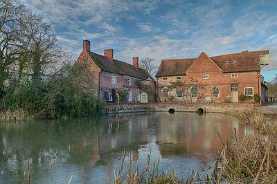 Photograph - Flatford Mill by Leah Palmer