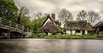 Flatford Mill Art Print by Martin Newman