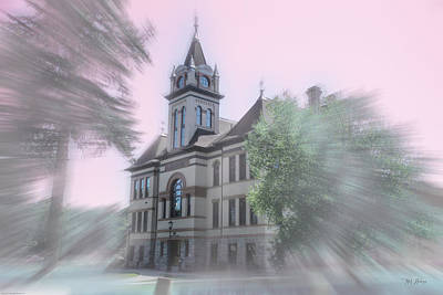 Photograph - Flathead County Courthouse by Mick Anderson