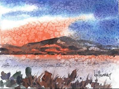 Flathead Lake Montana Art Print by Kevin Heaney