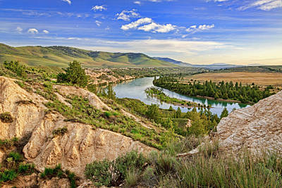 Photograph - Flathead River View by Jack Bell