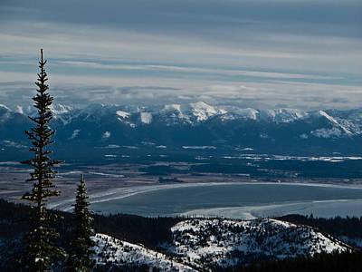 Flathead Valley In The Winter Art Print