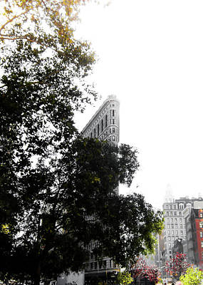 Nyc Photograph - Flatiron Autumn  by Nicklas Gustafsson