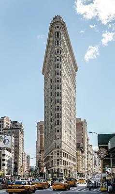 Photograph - Flatiron Building , Manhattan, New York, Usa by Matteo Colombo