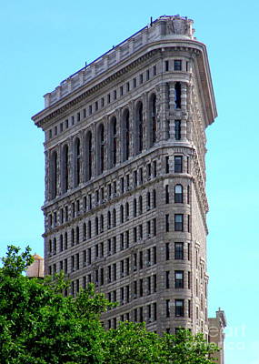 Photograph - Flatiron Building 1 by Randall Weidner