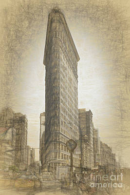 Photograph - Flatiron Building by Cathy Alba