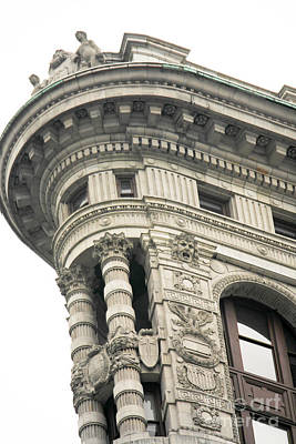Photograph - Flatiron Building Detail by David Bearden