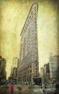 Photograph - Flatiron Building by Elena Nosyreva