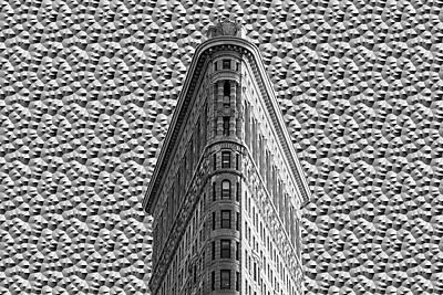 Manipulation Photograph - Flatiron Building Nyc by Ericamaxine Price
