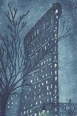 Flatiron Building Original by Stephen Francis Duffy