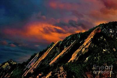 Photograph - Flatiron Dawn by Jon Burch Photography