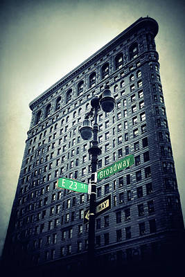 Photograph - Flatiron Directions by Jessica Jenney
