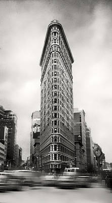 Photograph - Flatiron District Rush Hour by Jessica Jenney