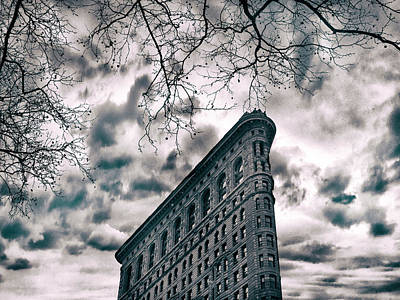 Hauntings Digital Art - Flatiron Foreboding by Jessica Jenney