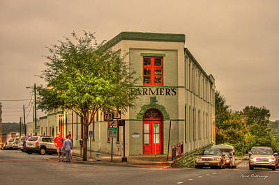 Photograph - Farmers Hardware Flatiron Famous Georgia Art by Reid Callaway