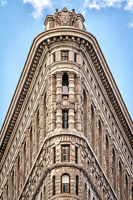 Photograph - Flatiron Head On by Framing Places