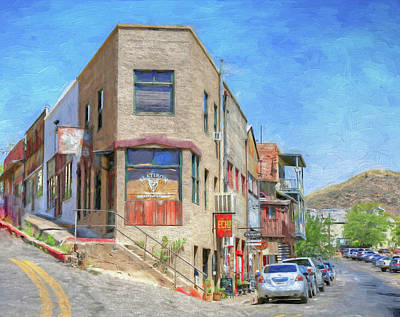 Photograph - Flatiron In Jerome by Donna Kennedy
