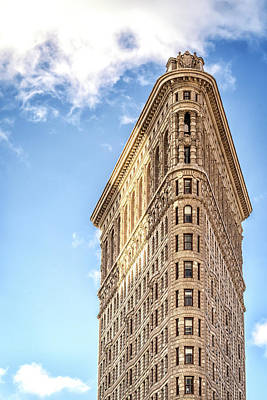 Photograph - Flatiron In Morning Sunlight by Framing Places