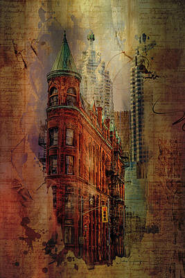 Digital Art - Flatiron Lights by Nicky Jameson