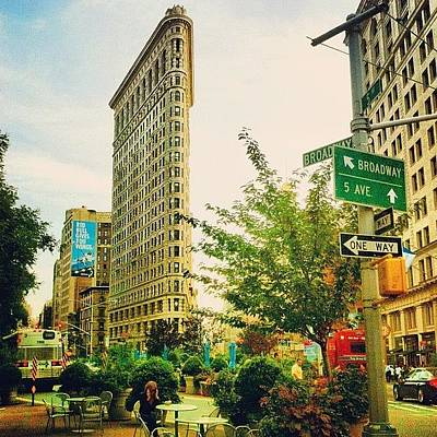 City Scenes Photograph - Flatiron by Luke Kingma