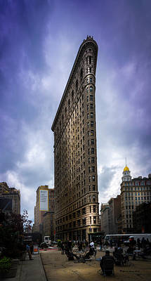 Flatiron Art Print by Marvin Spates