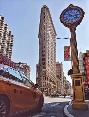 Photograph - Flatiron New York by Cameron Dixon