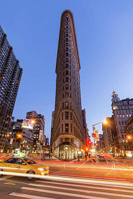 Photograph - Flatiron Night by Alan Raasch