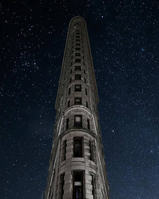 Photograph - Flatiron Night by Jakob Dahlin
