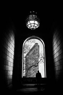 Art Print featuring the photograph Flatiron Perspective by Jessica Jenney