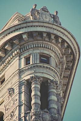 Photograph - Flatiron Portrait by Alice Gipson