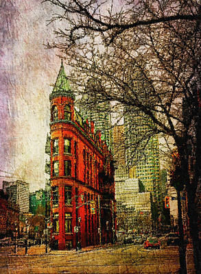 Digital Art - Flatiron Reloaded by Nicky Jameson